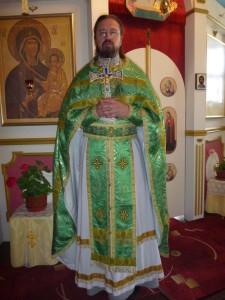 Клирик иерей Владимир Навроцкий